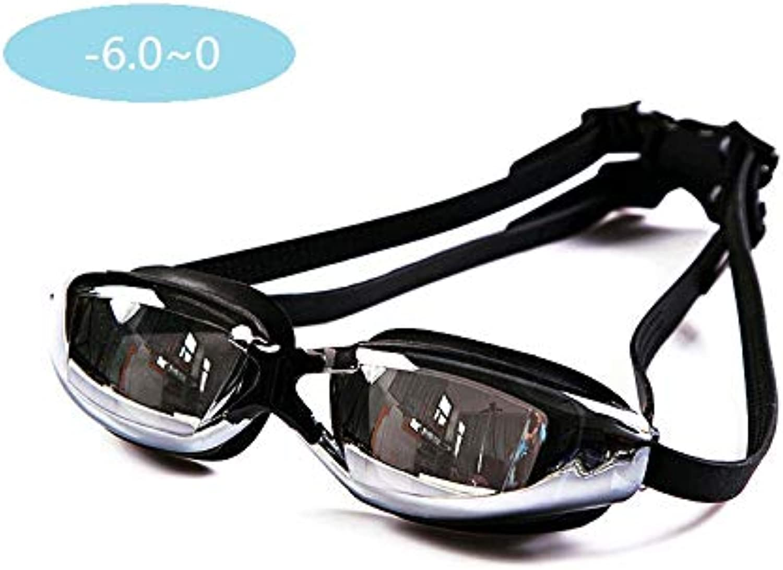 ピンク note 処方水泳ゴーグル 視力矯正水泳ゴーグル 漏れ防止 曇り止め UV保護 近視近視水泳ゴーグル