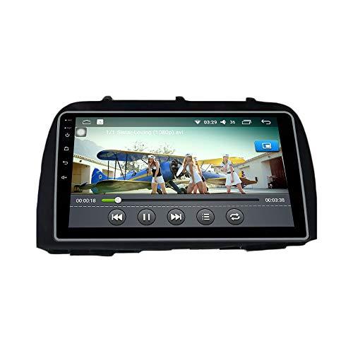 Android 10 Autorradio Navegación del Coche Unidad Principal Estéreo Reproductor Multimedia GPS Radio IPS 2.5D Pantalla táctil porMazda CX-5 2013-2015