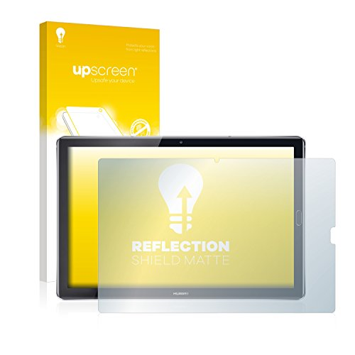 upscreen Entspiegelungs-Schutzfolie kompatibel mit Huawei MediaPad M5 10.8/10.8 Pro – Anti-Reflex Bildschirmschutz-Folie Matt