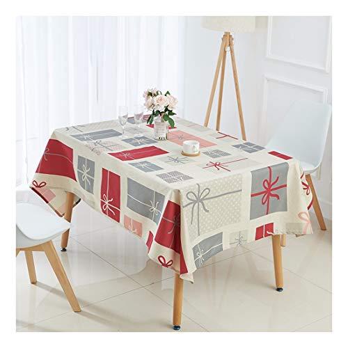ZHAOXIANGXIANG Nappe De Noël Élégant Décor Accueil Polyester Tapis De Table Imprimé Numérique Cirée Cadeau De Noël Pattern,60X60Cm