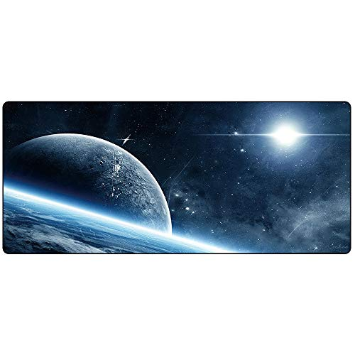 Cmhoo XXL Professional Large Mouse Pad & Computer Game Mouse Mat (35.4x15.7x0.1IN, 90x40 Space)