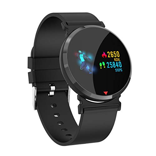 Alexa & Katie Smart Watch Fitness Tracker Smart Watch, Tracker with Heart Rate Monitor,Pedometer Watch with Sleep Monitor Blood Pressure, Step Counter for Kids Women Men Gifts