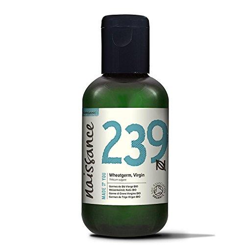 Naissance Weizenkeimöl, nativ 100ml BIO zertifiziert 100% rein