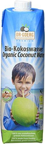 Dr. Goerg Premium Bio-Kokoswasser,  1 kg