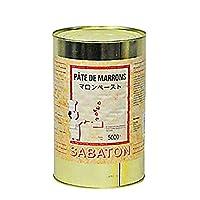 【サバトン】マロンペースト5kg缶<ペースト>