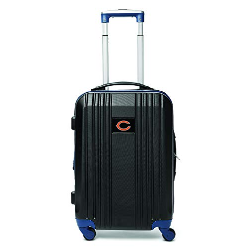 Best Price Denco NFL Chicago Bears Round-Tripper Two-Tone Hardcase Luggage Spinner