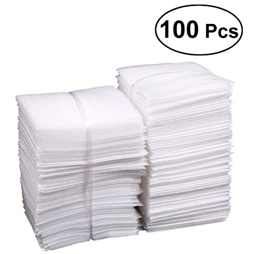 YeahiBaby 100pcs Foam Pouches Cushioning Wrap Pouches for for Protecting Dishes Glasses Wine Bottles Shipping 25x30cm
