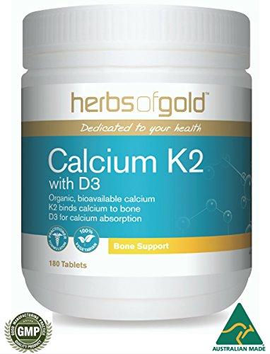 Calcium citrate, Magnesium, Vitamin K2 & D3 Plus 72 Alkaline, Organic, Vegetarian Trace minerals incl Zinc, Boron & Strontium