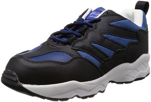 [マルゴ] 安全靴 作業靴 鋼製先芯 通気 耐油 踵衝撃吸収 JSAA A種 マジカルセーフティー 600 NV/BK 30.0cm(30cm)