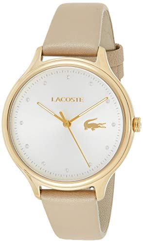 Lacoste Women's Analogue Classic Quartz Watch with Leather Strap 2001007