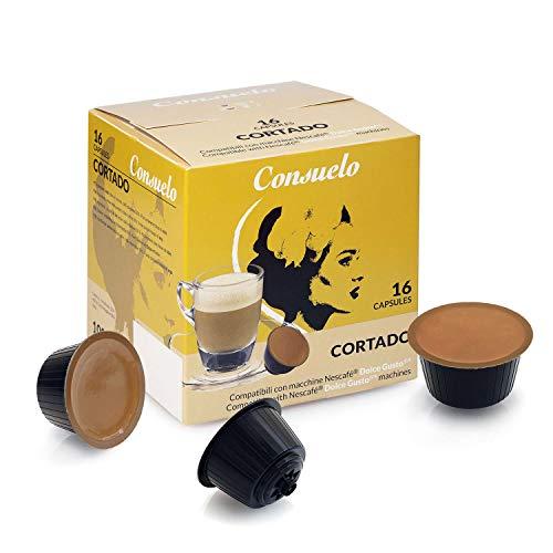 Consuelo Dolce Gusto*, capsule compatibili - Cortado, 96 capsule (16 x 6)