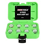OEMTOOLS 37161 Noid Light Set, 8-Piece, Diagnose Issues in Any Automobile's Ignition or Fuel Injection Systems, Work with Nearly Every Modern Car, Mechanics' Tools, Come with Carrying Case