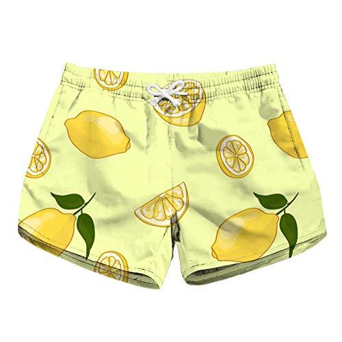 Pantalones Cortos de Correr Deportivos para Mujer, Impresiones digitales para mujer Pantalones cortos de tablero de playa de verano seco rápido Casual Shorts Inicio Use ropa de yoga yoga pantalones co