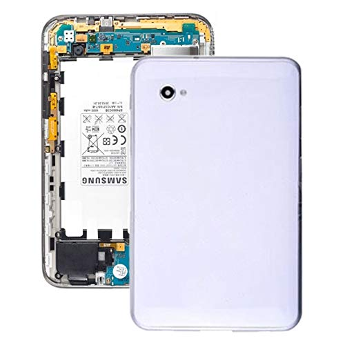 WRHJSAT Battery Back Cover for Galaxy Tab 7.0 Plus P6200 (White) 1Q (Color : White)