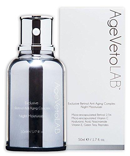 Crema de antienvejecimiento, retinol encapsulado, uso de