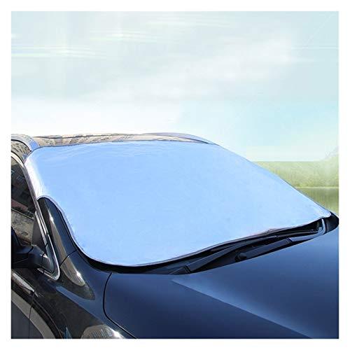Parasol Coche Parabrisas delantero sombrilla del coche de la cubierta del visera Protección de pantalla parabrisas plegable bloque UV anti hielo de la nieve polvo heladas congelación Escudo Cortina de