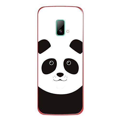 DISAGU SF-sdi-4195_1020 Design Folie für Wiko riff Rückseite - Motiv Pandagesicht