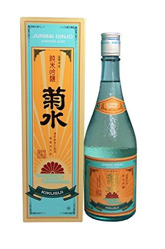 KIKUSUI Junmai Ginjo Sake / Reiswein aus Japan alc. 15% vol. [ 720ml ]