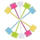 perfk 10x Etichette da Giardino Classificazione delle Piante Cartelli per Smistamento Cart...