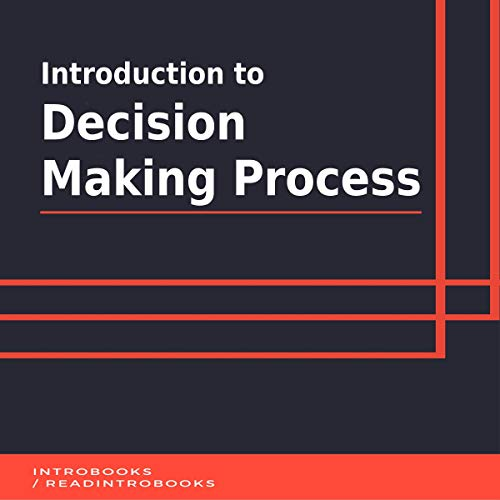 Couverture de Introduction to Decision Making Process