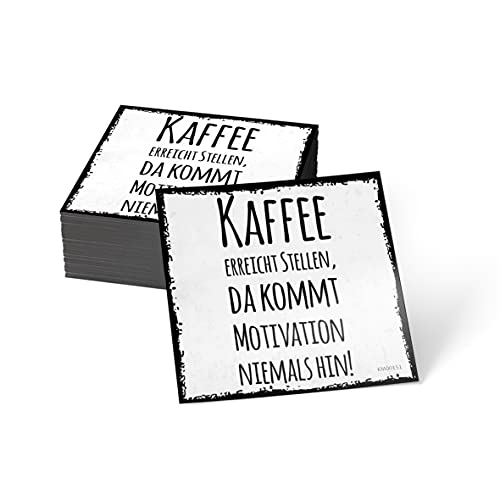 how about tee? Magnet-Sticker: Kaffee erreicht Stellen, da ko. - Kühlschrankmagnet mit Spruch