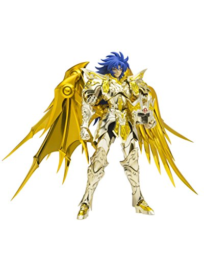 TAMASHII NATIONS Bandai Saint Cloth Myth Ex Gemini Saga (God Cloth) Saint Seiya-Soul of Gold Action Figure