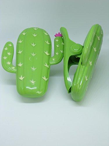 Serviette de Plage Clips Boca Paire de Style – Cactus