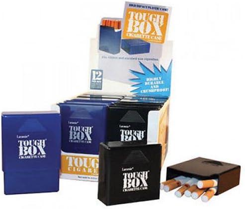 12 Pack Laramie Max 84% OFF Tough Box Plastic Cigarette Crush-Proof Case Superior Kin