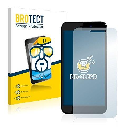 BROTECT Schutzfolie kompatibel mit Archos 50 Power (2 Stück) klare Bildschirmschutz-Folie