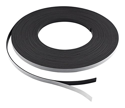 Master Magnetics ZG05A-ABX Flexible Magnet Strip with Adhesive Back, 1/16