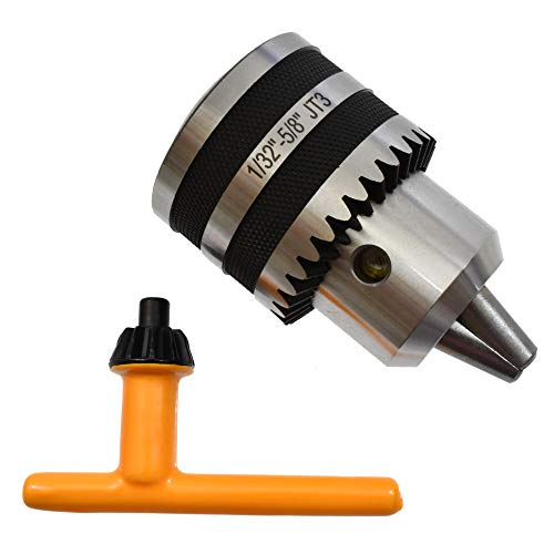 """5/8"""" Replacement Drill Chuck For Drill Press Jt3 Jt 3 Jacobs Taper …"""