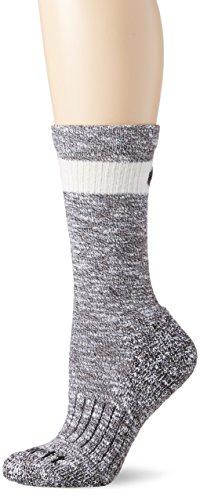 Carhartt Womens All Season Crew Socks, Black, MED