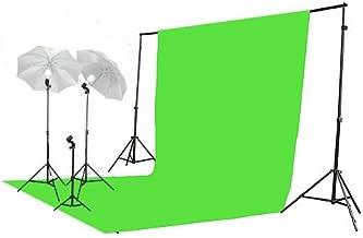 ePhoto Video Photo ChromaKey Green Screen Light Kit 3 Point Studio Photography Lighting kit