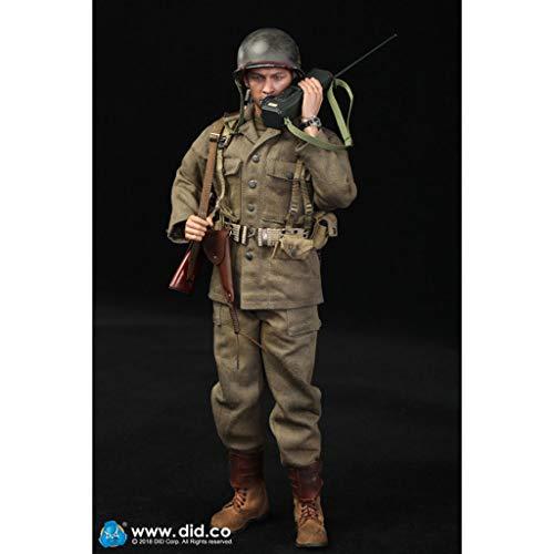 CQ 1/6 Escala Ejército de la Segunda Guerra Mundial la figura de acción militar, 12 pulgadas de EE.UU. 77a División de infantería capitán Sam flexibles macho soldado modelo de recogida de juguetes mil