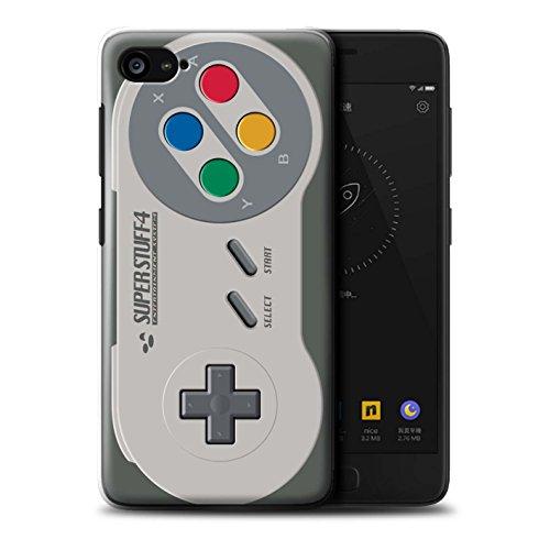 Hülle Für Lenovo ZUK Z2 Spielkonsolen Super Nintendo Design Transparent Ultra Dünn Klar Hart Schutz Handyhülle Case