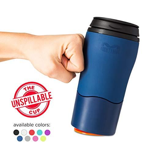 Mighty Mug Taza Termo, Resistente, Azul Marino, 8 cm