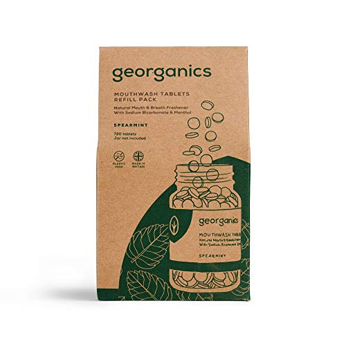 Georganics Mouthwash Tablets