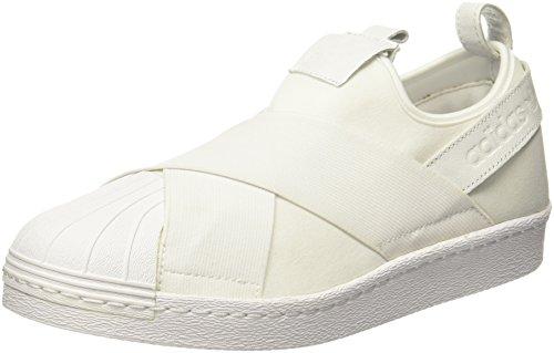 Adidas Superstar Slipon, Zapatillas de Deporte Hombre, Blanco (Ftwbla/Ftwbla/Ftwbla 000), 44 EU