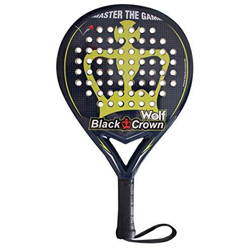 Black Crown Pala de Pádel Wolf Nivel: Medio | Potencia 70%, Control 90%