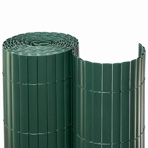 NOOR Sichtschutzmatte PVC 1,8x3m Farbe: grün