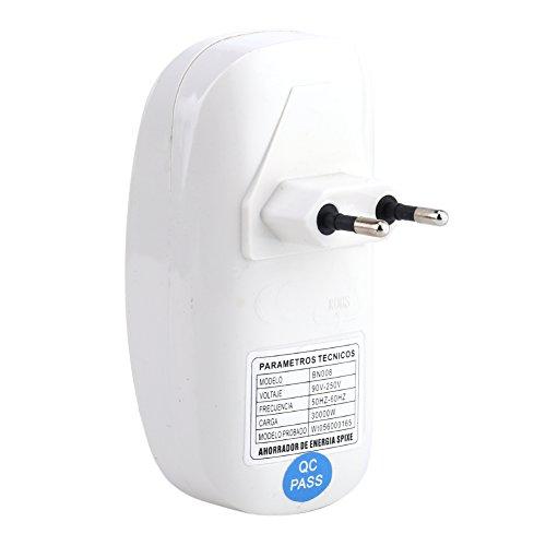 90-250V 3000W energiebesparende witte doos Power Retter Saver voor halssteun energiebesparing met EU-stekker