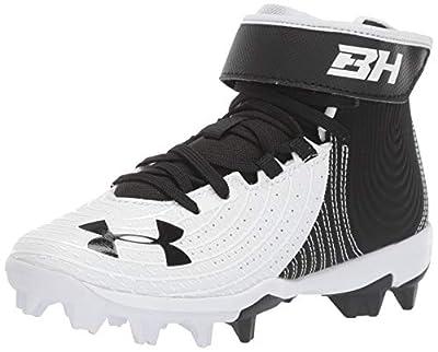 Under Armour Kids' Harper 4 Mid Rm Jr. Baseball Shoe