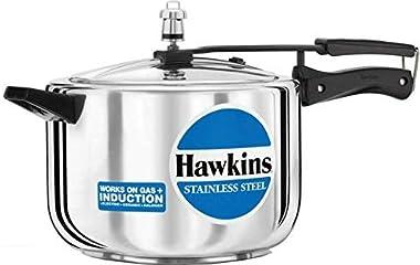 Hawkins Stainless Steel Pressure Cooker (5 Litres)