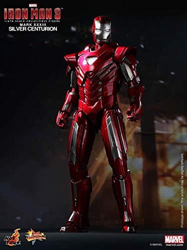 Movie Masterpiece Iron Man 3 1/6 scale figure Iron Man Mark 33 (Silver Centurion)