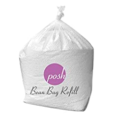 Premium Bean bag refill: our posh Bean Filler is ideal to build your own beanbag chair or fill Bean bag such as Ace Bayou and gold medal Lasts longer: Our bean bag fill lasts longer than the competition due to our propriety Bean expansion process for...