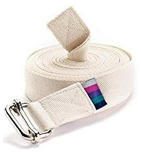 Ruluti Cinturón De Yoga De Iyengar Extra Largo Clásico,
