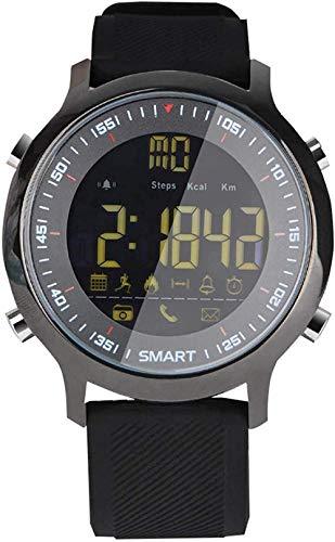 Reloj inteligente Smartwatch Actividad Trackers 1.3 pulgadas Fitness Smart Watch Hombres Reloj Inteligente con Música Impermeable Ip68 Presión Arterial Relojes para Mujer Negro Clásico-Naranja-Negro