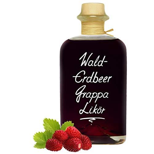Walderdbeer Grappa Likör 1L mit wunderbarer Duft- & Fruchtnote 20% Vol.