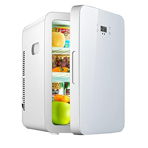 Flower stand Mini Refrigerador 25 L, Mini Refrigerador Silencioso De 12v / 220v, Nevera Eléctrico Portátil De Frío/Calor para Automóvil Viajes Medicina Cuidado De La Piel 45 * 35 * 30cm