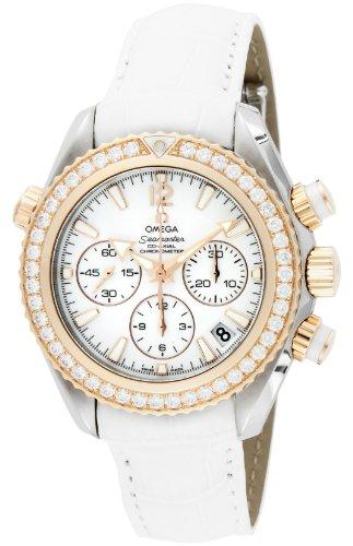 [オメガ] 腕時計 シーマスタープラネットオーシャン ホワイト文字盤 コーアクシャル自動巻き 600M防水 ダイヤモンド 222.28.38.50.04.001 並行輸入品 ホワイト
